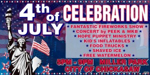Chickasaw - 4th of July